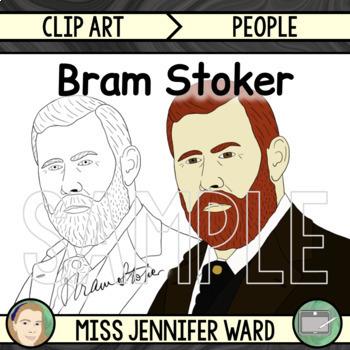 Bram Stoker Clipart