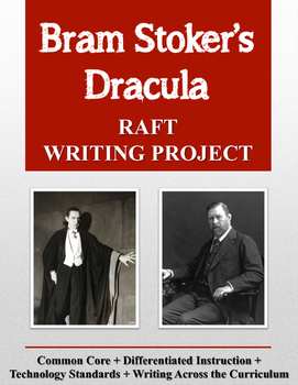 Bram Stoker's Dracula RAFT Writing Project