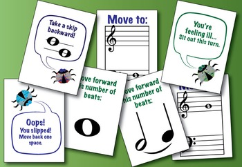 Branch Boulevard - Primer Level Music Theory Boardgame