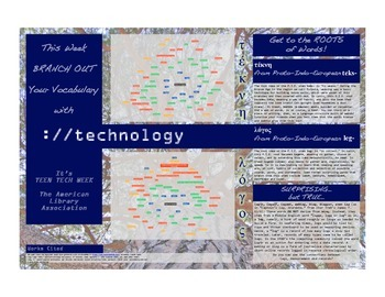 Branch Out Your Vocabulary with Technology: Teen Tech Week