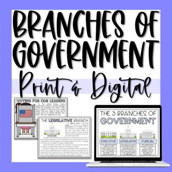 Branches & Levels of Government