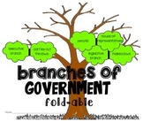 Branches Of Government Tree {Foldables Acitivity}
