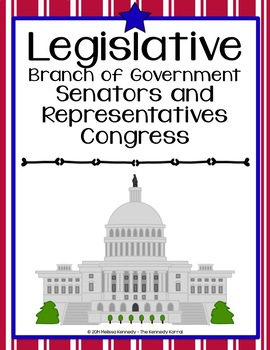 Branches of Government {Anchor Charts, Interactive Notebook & MORE}