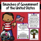 Branches of Government {Anchor Charts, Interactive Noteboo