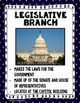 BRANCHES OF GOVERNMENT With Reading Passages and Flipbook