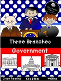 Branches of Government 2nd and 3rd Grade