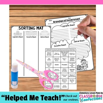 branches of government by elementary lesson plans tpt. Black Bedroom Furniture Sets. Home Design Ideas