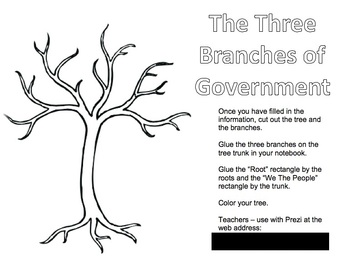 Branches of Government Activity and Prezi
