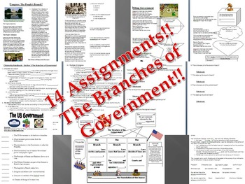 Branches of Government Bundle - Mini Unit