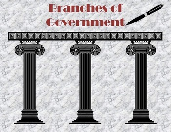 Branches of Government Cut and Paste