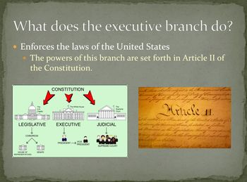 Branches of Government PowerPoint