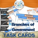 Branches of Government | Differentiated Task Cards | Notes