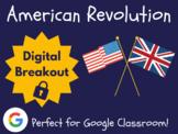 American Revolution - Digital Breakout! (Escape Room, Scav
