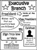 Branches of Government Doodle Notes