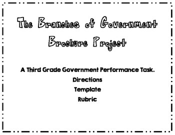 Branches of Government End of the Unit Activity