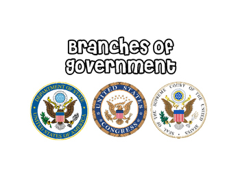 Branches of Government Folder Game