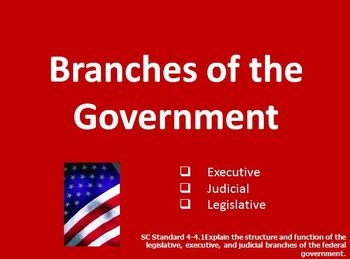 """Branches of Government Grade 4 PPT (with Justin Bieber """"Government"""" song)"""