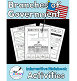 Branches of Government Interactive Notebook Activities