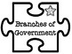 Branches of Government Jigsaw Puzzle Pieces