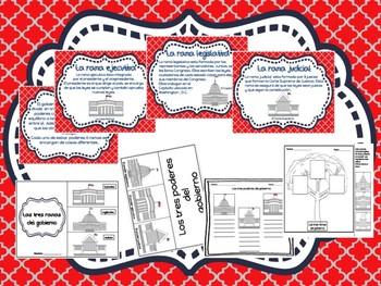 Branches of Government / Las ramas del gobierno