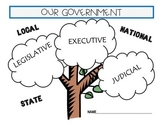 Branches of Government Legislative Executive Judicial Book & Game