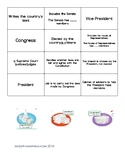 Branches of Government Matching Game/Activity