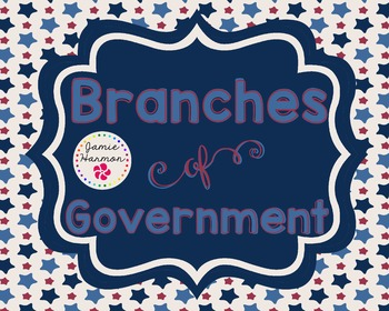 Branches of Government Mini Chart Set