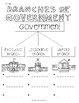 Branches of Government Notebook Activity