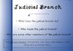 Branches of Government Notebook Presentation