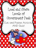 Branches of Government Pack:Local and State Government