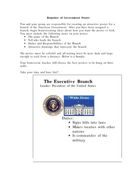 Branches of Government Poster