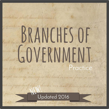 Branches of Government Practice