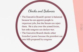 Branches of Government Prezi Lesson
