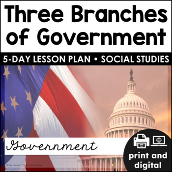 Branches of Government ~ Quick Pack