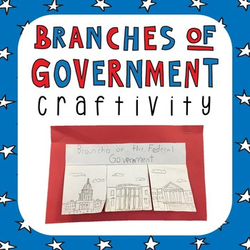 Branches of Government Readings and Craft Activity