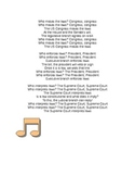 Branches of Government Song/ Who makes, enforces, interprets the laws?