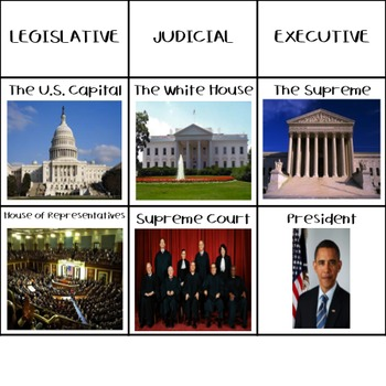 Branches of Government Sort