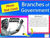 Differentiated Branches of Government Task Cards {with PHOTOS}