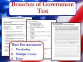 Branches of Government Test