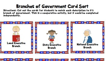 Three Branches of Government Unit