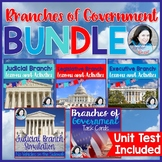 Branches of Government Unit Bundle   *Six Amazing Products!*