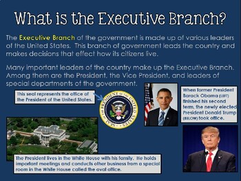 Branches of Government Unit Overview PowerPoint