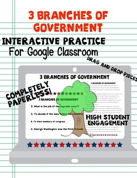 Branches of Government for Google Classroom