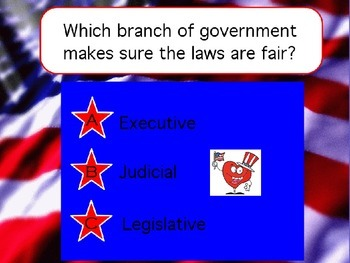 Branches of Government review powerpoint