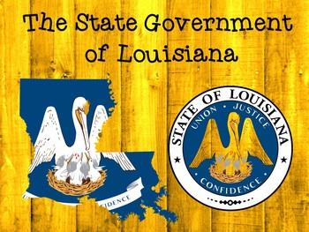 Branches of Louisiana State Government Vocabulary Presenta
