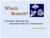 Branches of US Government Game