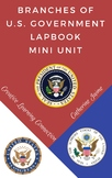 Branches of U.S. Government Lapbook/Mini Unit