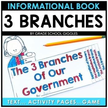 Three Branches of the Government Mini Book