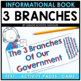 Three Branches of the Government Mini Book