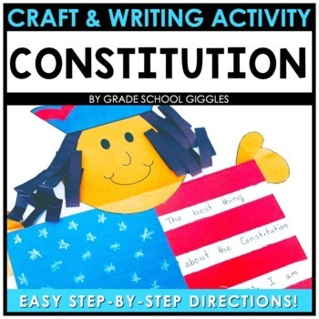 Constitution Bulletin Board - A Craft and Writing Activity
